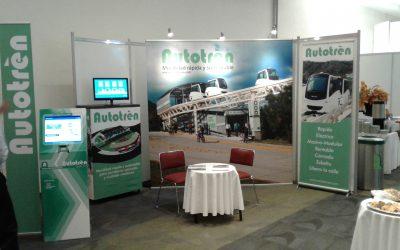 Presentación del Autotrén en el Congreso Ciudades y Transportes